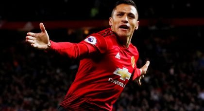 Manchester United forward Alexis Sanchez agrees to Inter Milan transfer