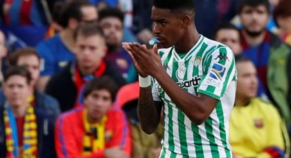 Manchester City are set to battle with Real Madrid for the signature of Real Betis full back Junior Firpo