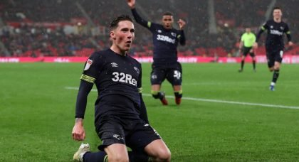 Liverpool expected to let Harry Wilson stay on loan at Derby County