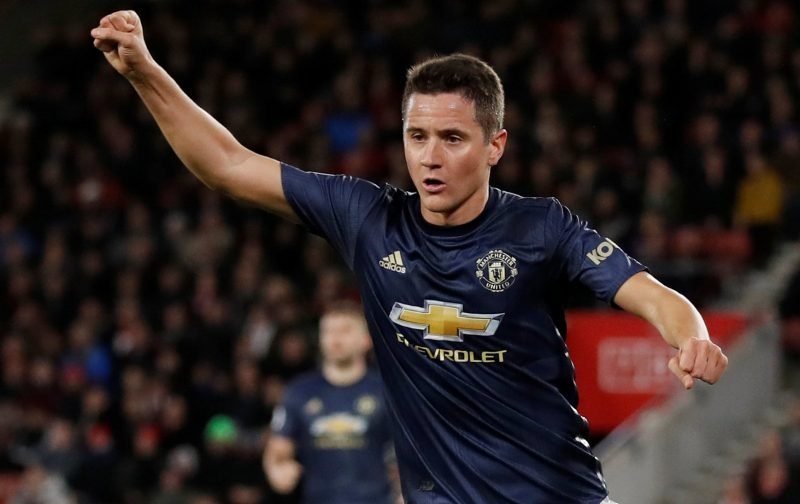 Manchester United hold positive contract talks with Ander Herrera