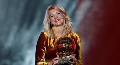 Ada Hegerberg wins inaugural Women's Ballon d'Or