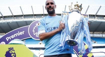 Career in Pictures: Pep Guardiola at Manchester City