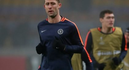 Arsenal miss out on loan deal for Chelsea defender Gary Cahill