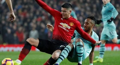 Manchester United aim to sell defender Marcos Rojo