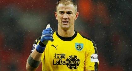 Burnley goalkeeper Joe Hart a target for Preston North End