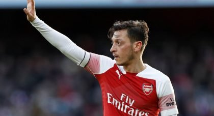 Arsenal star Mesut Ozil turns down PSG loan