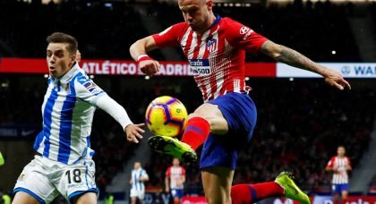 Man City weigh up club-record move for Atletico Madrid midfielder Saul Niguez