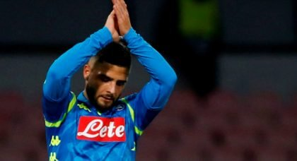 Liverpool eye summer deal for Napoli's Lorenzo Insigne
