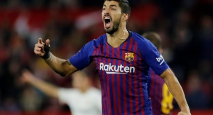 Manchester United fail in move for Barcelona striker Luis Suarez
