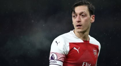 Arsenal fail in bid to move Mesut Ozil to Inter Milan