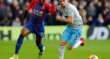 Manchester United to battle it out with Premier League rivals for Crystal Palace star Aaron Wan-Bissaka