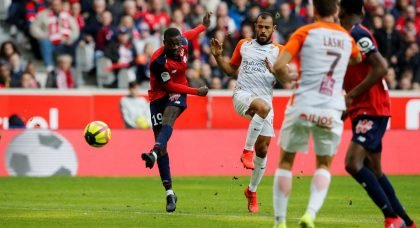 Liverpool join cluster of clubs keen to sign impressive Lille forward Nicolas Pepe