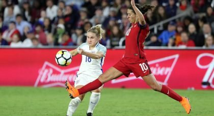 England midfielder Izzy Christiansen in race to be fit for World Cup