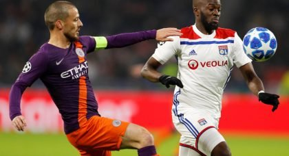 Manchester United are considering a move for Tottenham target Tanguy Ndombele of Lyon