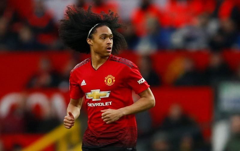 Shoot for the Stars: Manchester United winger Tahith Chong