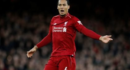 Liverpool star defender Virgil van Dijk attracting interest from both Barcelona and Real Madrid
