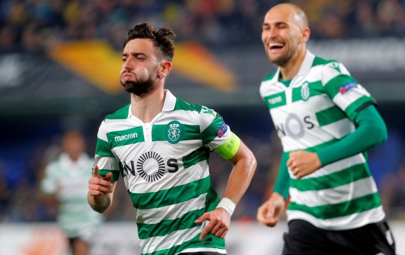 Manchester United head the queue to sign Sporting Lisbon star Bruno Fernandes
