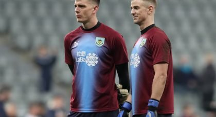 Burnley set to listen to offers for English goalkeepers Joe Hart and Nick Pope this summer