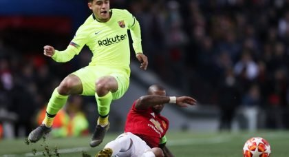 Chelsea to make move for Barcelona playmaker Philippe Coutinho if transfer ban is lifted