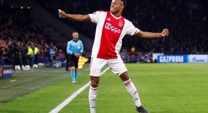 Liverpool join Everton in showing an interest in Ajax forward David Neres