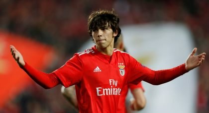 Manchester United open talks with Benfica over £89million Joao Felix deal