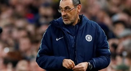Chelsea manager Maurizio Sarri in talks with with Juventus to replace the outgoing Massimiliano Allegri