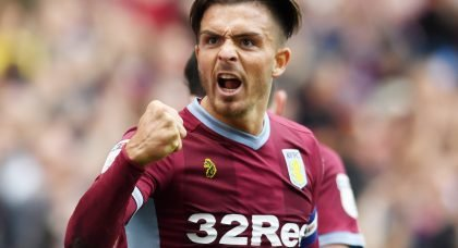 Crystal Palace join Tottenham in the race to sign Aston Villa star Jack Grealish
