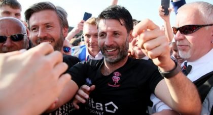 Shoot Exclusive: Lincoln City boss Danny Cowley proud of League Two title win