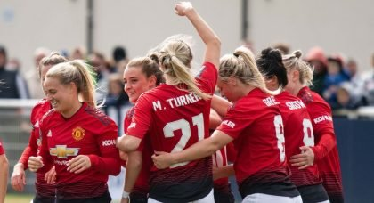 Manchester United seal promotion to Women's Super League