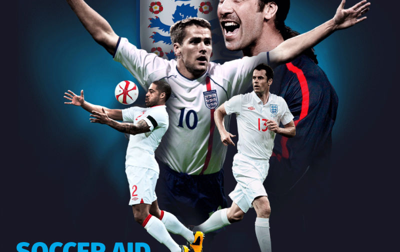 Former England internationals sign up to Soccer Aid 2019 for Unicef