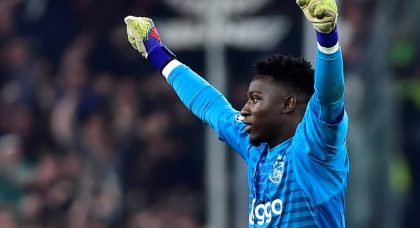 Manchester United have bid rejected for Ajax goalkeeper Andre Onana