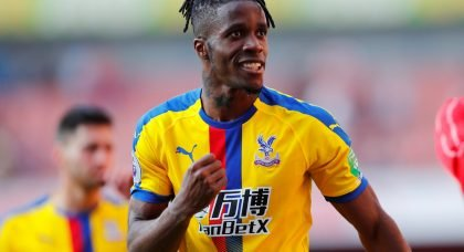Arsenal interested in summer swoop for Crystal Palace star Wilfried Zaha