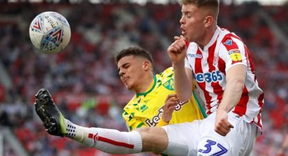 Manchester United set to snap up young defender Nathan Collins from Stoke City