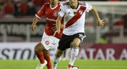 Arsenal eye swoop for River Plate youngster Exequiel Palacios