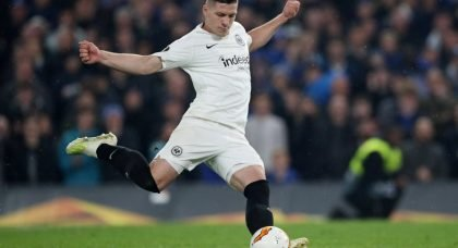 Chelsea favourites to sign Eintracht Frankfurt striker Luka Jovic
