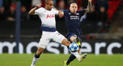 Manchester City close to re-signing full-back Angelino from PSV Eindhoven