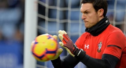 Liverpool target deal for Southampton goalkeeper Alex McCarthy