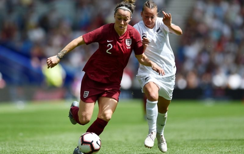 England star Lucy Bronze on UEFA Women's Player of the Year shortlist