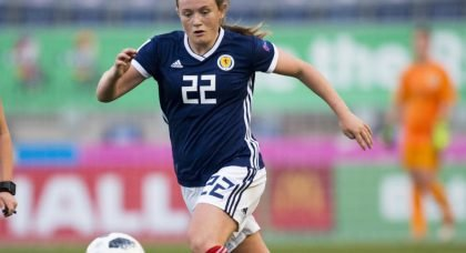Erin Cuthbert: Scotland ready to face England in World Cup opener