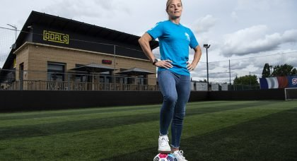 England Legend Supports Soccer Aid for Unicef's Great Big Kickabout