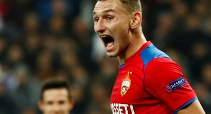 Liverpool target in-demand CSKA Moscow striker Fedor Chalov