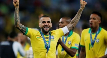 Arsenal surprise addition in race to sign out-of-contract right back Dani Alves