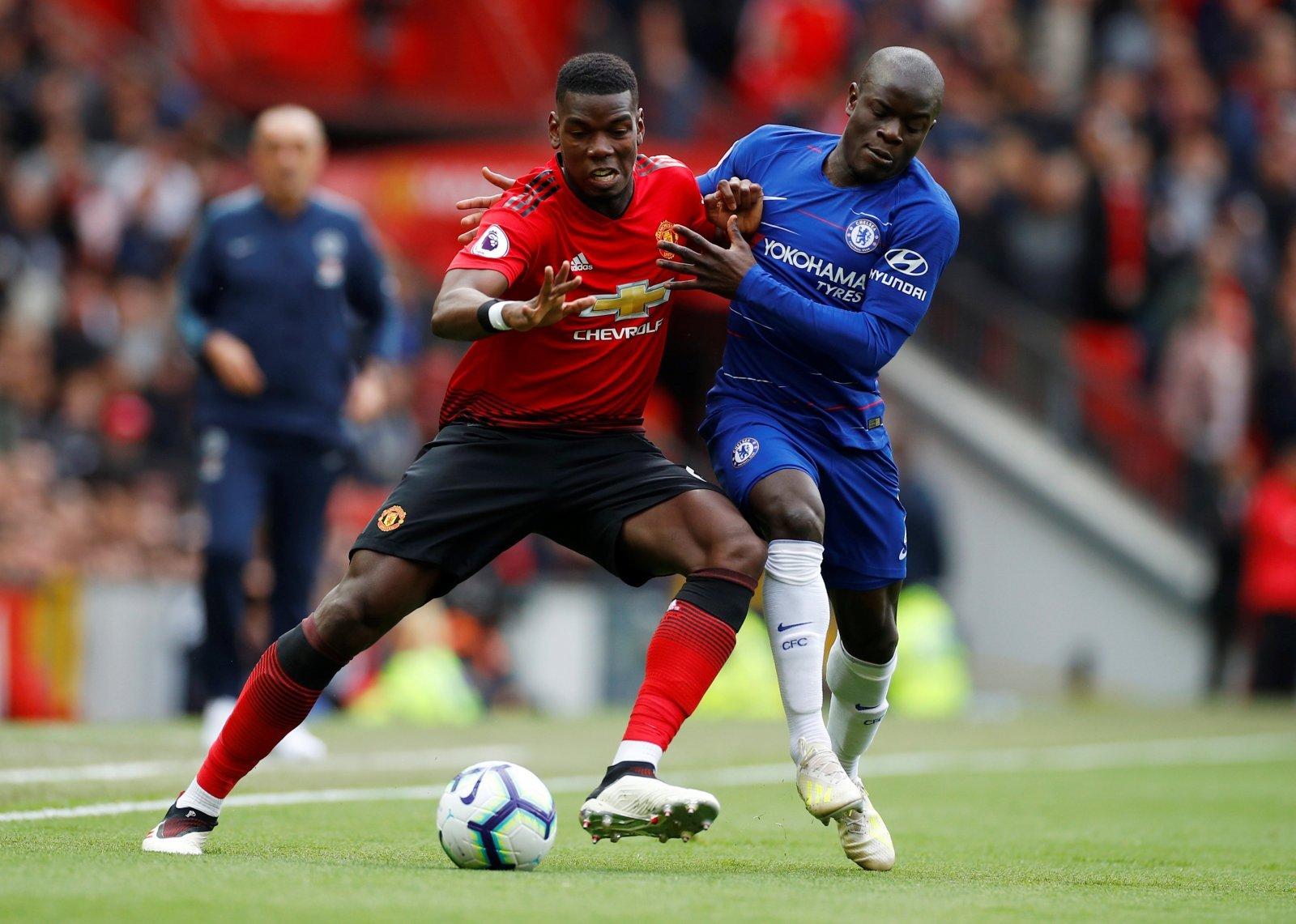 Premier League Head-to-Head: Paul Pogba (Manchester United) vs N ...