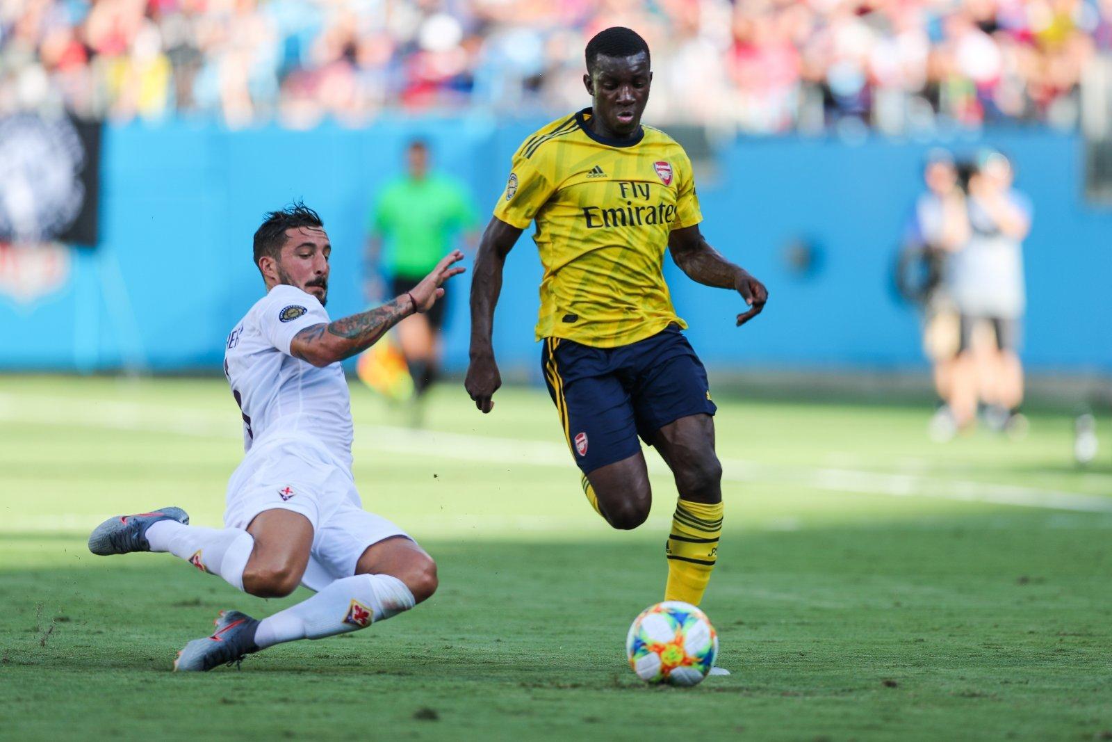 Shoot For The Stars Arsenal Striker Eddie Nketiah Shoot