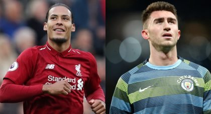 Community Shield Head-to-Head: Virgil van Dijk (Liverpool) vs Aymeric Laporte (Man City)