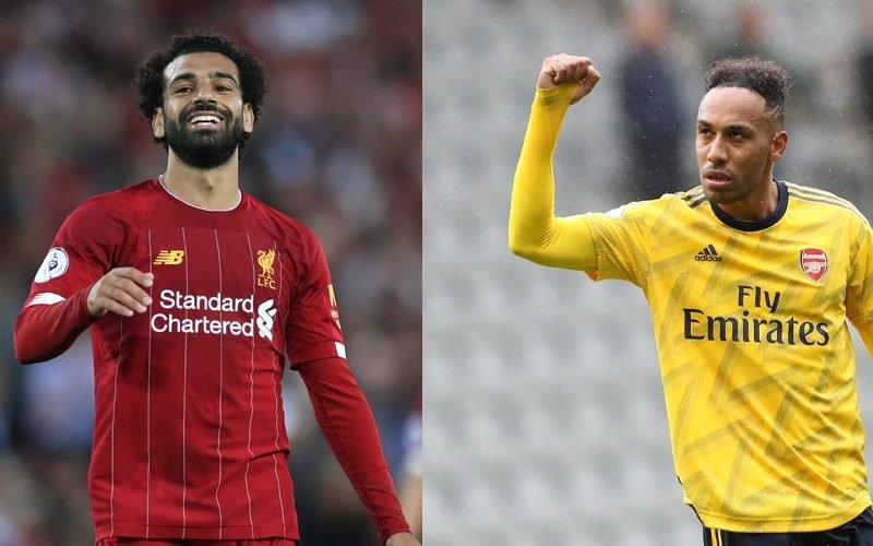 Premier League Head-to-Head: Mohamed Salah (Liverpool) vs Pierre-Emerick Aubameyang (Arsenal)