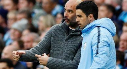 Pep Guardiola says Mikel Arteta can succeed him as Manchester City boss