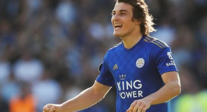 Manchester City have their eye on Leicester City defender Caglar Soyuncu