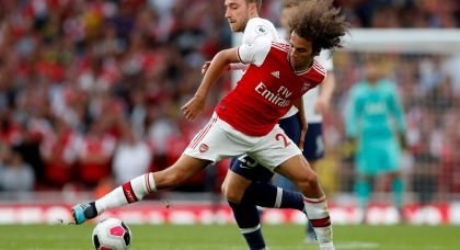 Alexandre Lacazette backs Arsenal teammate Matteo Guendouzi to become a midfield world-beater