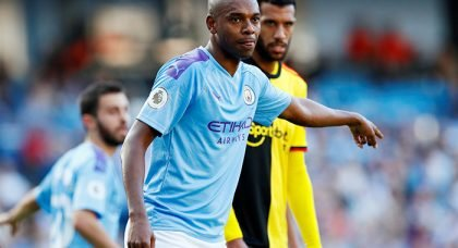 Manchester City star Fernandinho picks United favourite as one of his toughest opponents